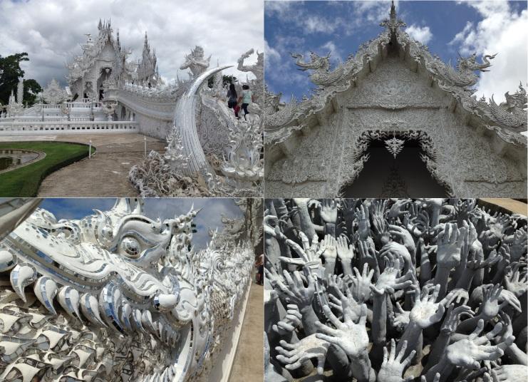 White temple.