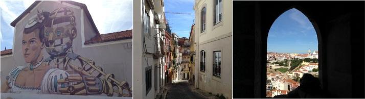 Santa Apolonia - Alfama - Castelo de Sao Jorge