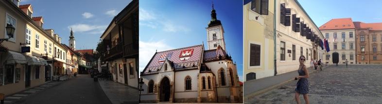 Ul. Ivana Tkalcica - St-Marks Church - plein