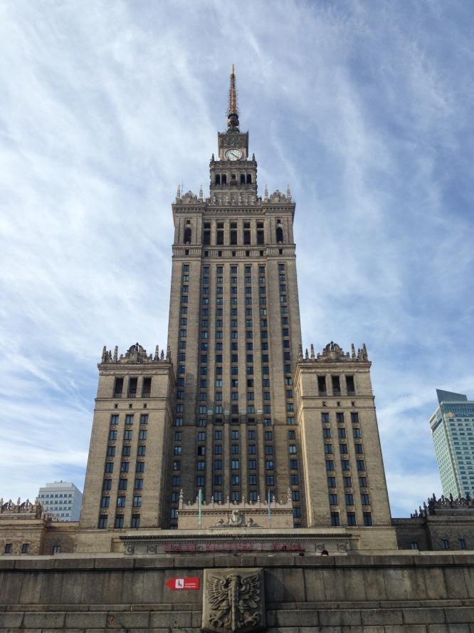 Palac Kultury i Nauki Warschau